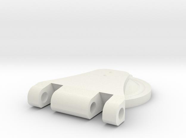 08.04.35.02.05 Cover plate (1) in White Natural Versatile Plastic