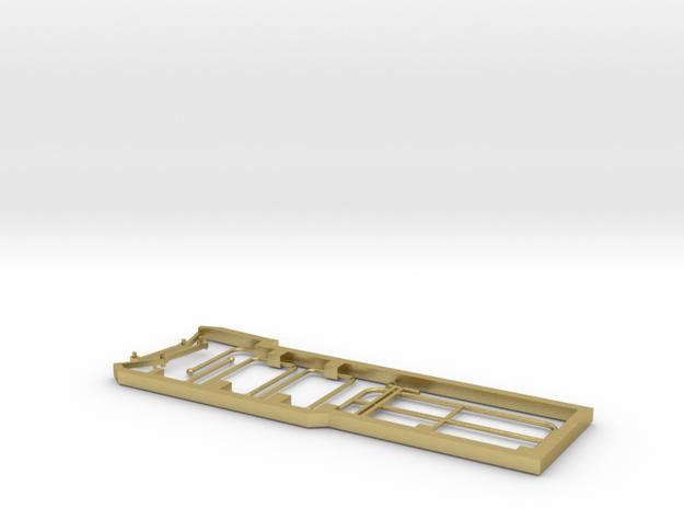 FAU00-1000-01 Stangen, Geländer, Hebel in Natural Brass