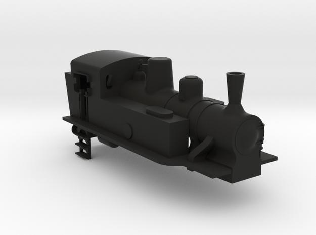 FS gr880 Cassa in TT in Black Natural Versatile Plastic
