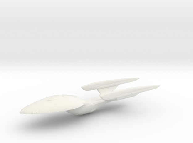 Resolute Class in White Natural Versatile Plastic