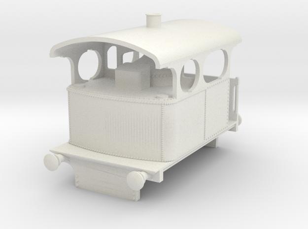 b-64-5-3-cockerill-type-IV-loco in White Natural Versatile Plastic