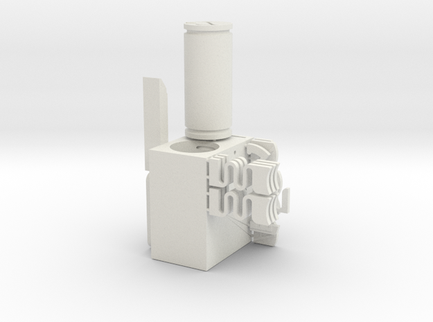 Shapeways LockLab in White Natural Versatile Plastic