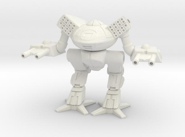 Turkina - Prime Fitting - Mechanized Walker System in White Natural Versatile Plastic