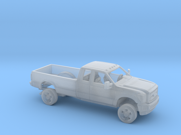 1/160 2011-16 Ford F Series ExtCab Long Bed Kit in Smooth Fine Detail Plastic
