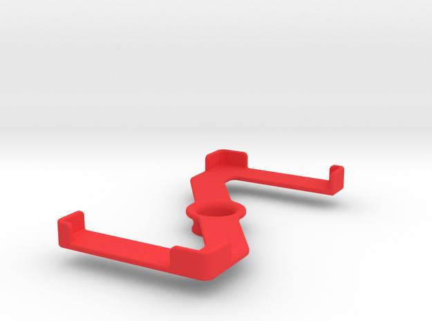 Platform (153 x 79 mm) in Red Processed Versatile Plastic