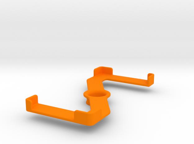 Platform (156 x 76 mm) in Orange Processed Versatile Plastic