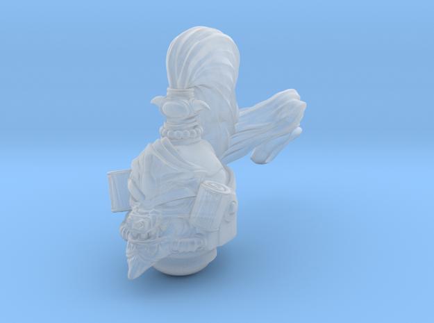 space mk-haaan helmet in Smoothest Fine Detail Plastic