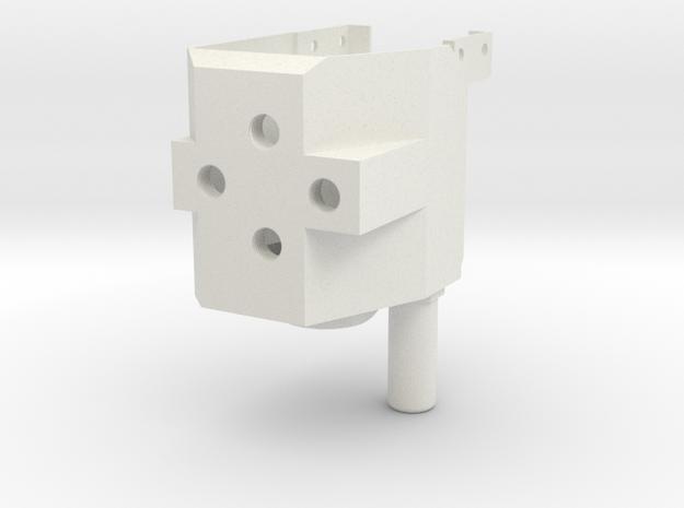 08.02.10.01.01 Valve Block Rev1 in White Natural Versatile Plastic