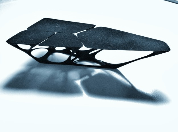 Tentacle Table in Black Natural Versatile Plastic