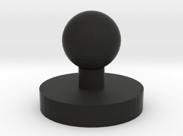 Oxyarm headset mounting base in Black Natural Versatile Plastic
