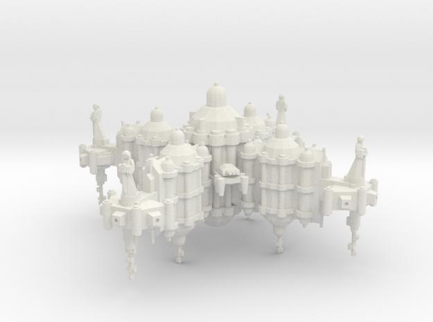 Palacio Orbital Inquisitorial in White Natural Versatile Plastic
