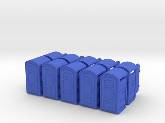 S Scale portpot SWF x10 in Blue Processed Versatile Plastic