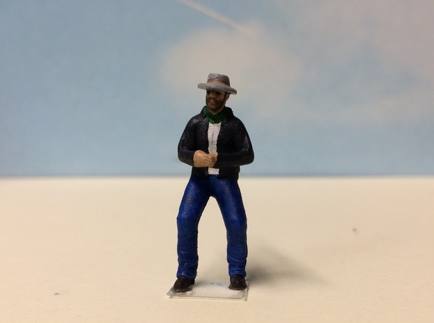 Willard Crouching in Smoothest Fine Detail Plastic: 1:64 - S