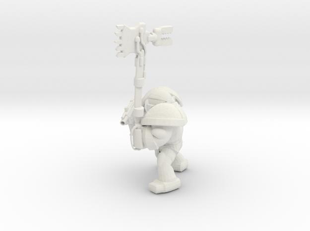 SPACEMARINER 1 in White Natural Versatile Plastic