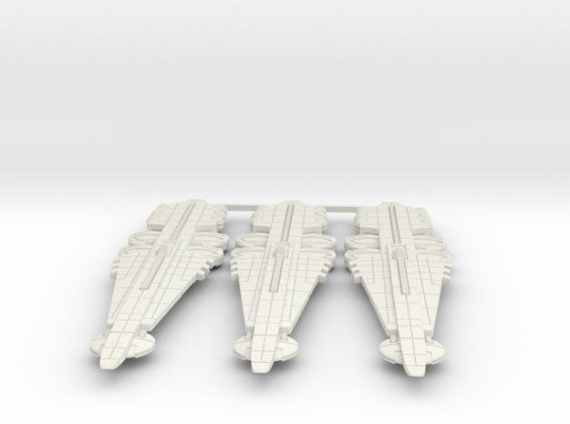 Orion (KON) Battleship Datagroup (sprued) in White Natural Versatile Plastic