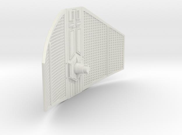 Tie fighter Inquisitor Wing Left 1/144 scale in White Natural Versatile Plastic