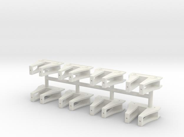 Gauge 3 Portland Co Pedestal 8x in White Natural Versatile Plastic