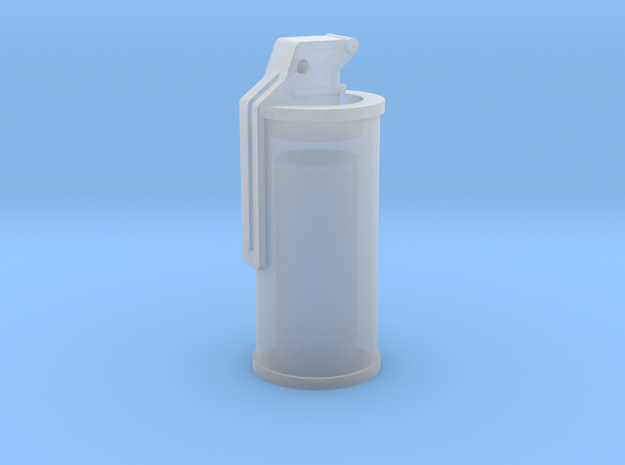 Smoke Grenade 1/6 in Smooth Fine Detail Plastic