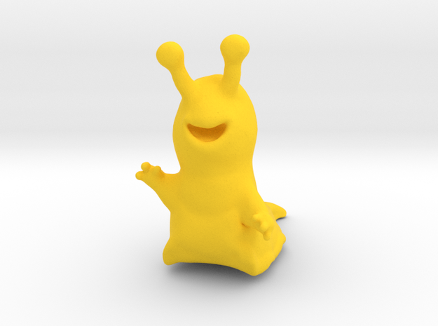 Sluggo in Yellow Processed Versatile Plastic