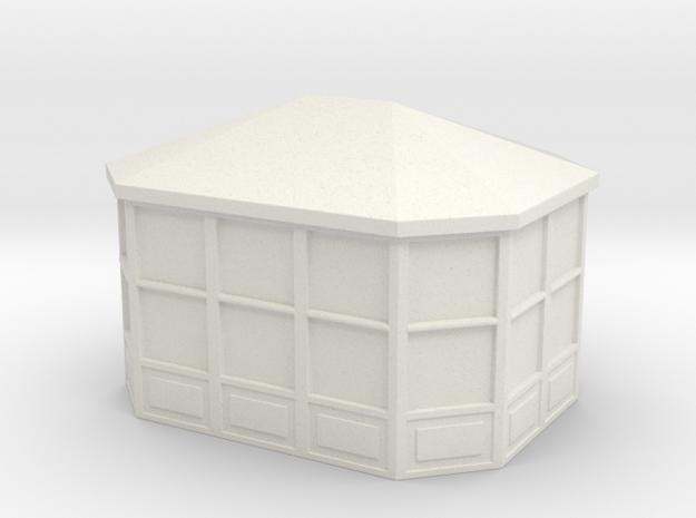 Gazebo 1/120 in White Natural Versatile Plastic