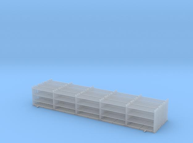 barriere pont modele  marchienne HO version final  in Smooth Fine Detail Plastic: 1:87 - HO