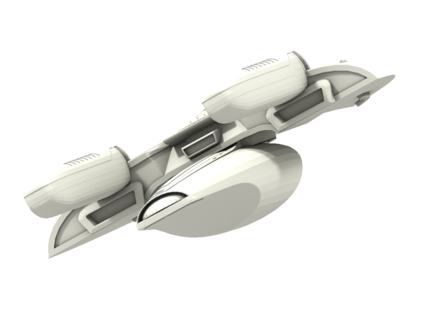 Johnson Class GunDestroyer 3d printed