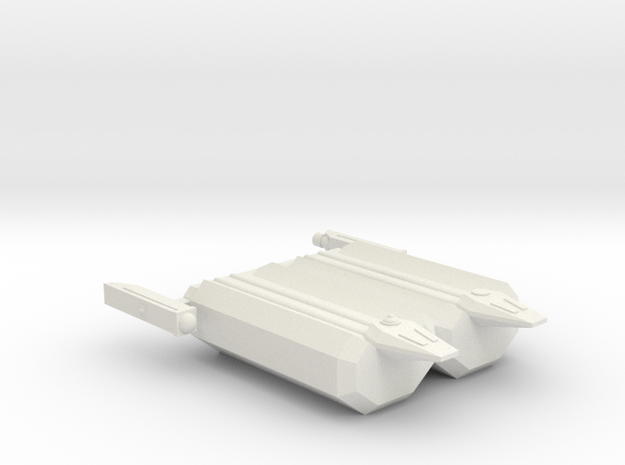 Omni Scale Hydran Large Freighter (Paired) CVN in White Natural Versatile Plastic