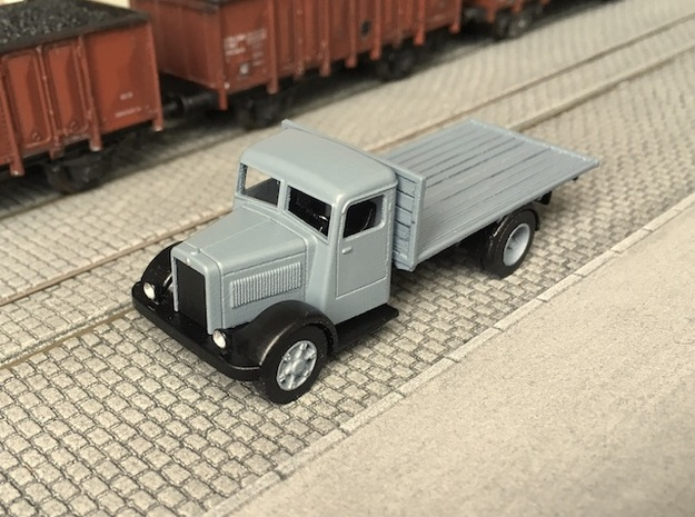 Berliet GDR 1936-1949 Ho 1:87 in Smooth Fine Detail Plastic