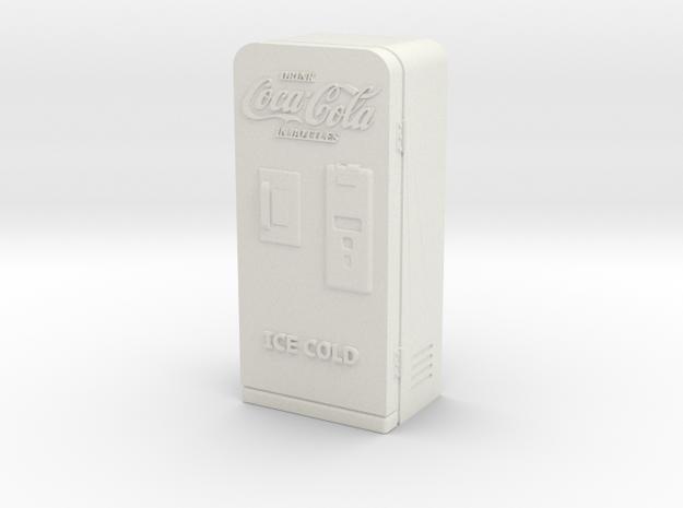 coke machine 43:1 in White Natural Versatile Plastic
