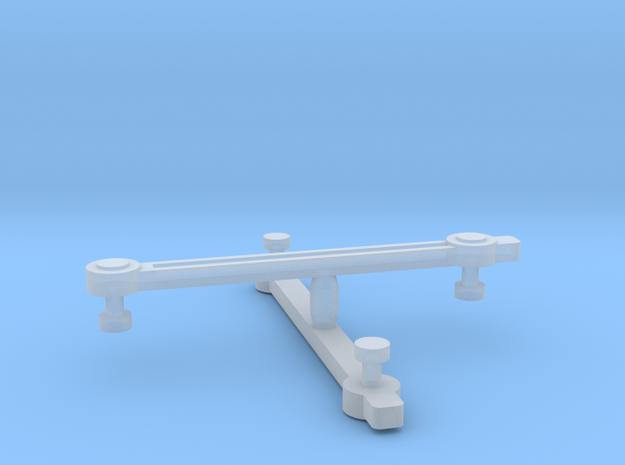 Con-Cor 4-6-4 Eccentric Rods - N Scale  in Smooth Fine Detail Plastic