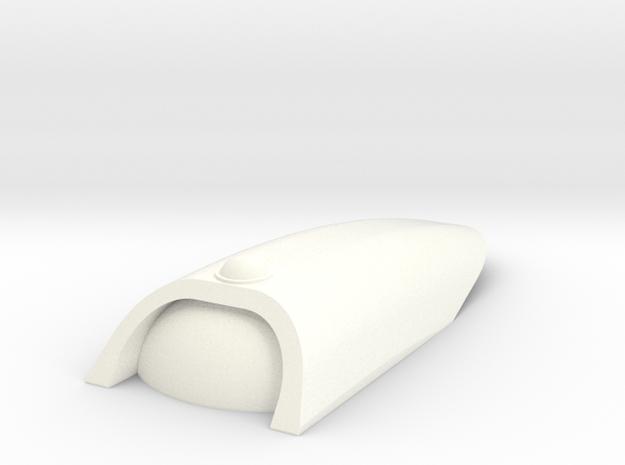 1/350 Upper Saucer Hangar in White Processed Versatile Plastic