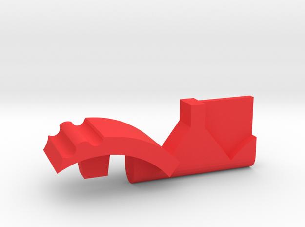 Warthog throttle part - TBM900 in Red Processed Versatile Plastic