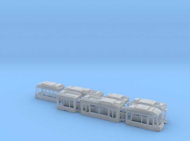Rhein-Neckar-Variobahn RNV8ER in Smooth Fine Detail Plastic: 1:120 - TT
