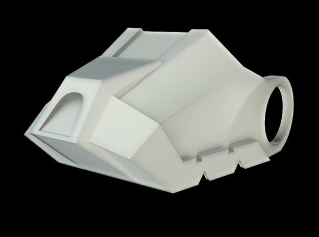 Iron Man Boot (Toe NO sole) Part 2 of 4 3d printed CG Render