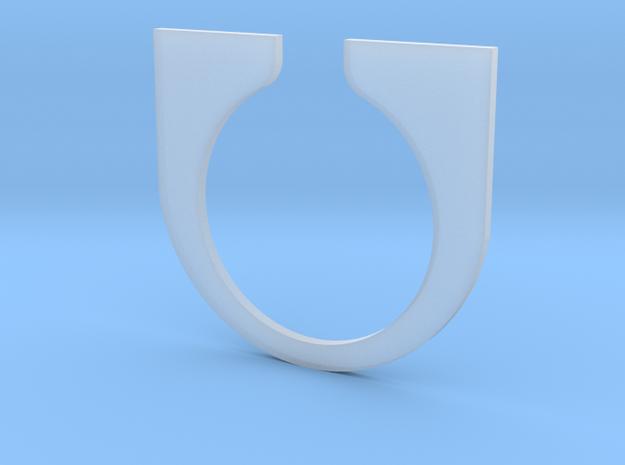 Tesla Turbine casing Bridge in Smooth Fine Detail Plastic