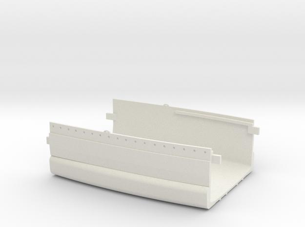 1/350 1919 US Small Battleship Design A7 Midship in White Natural Versatile Plastic
