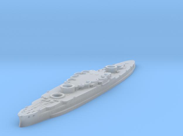 1/1200 USS Arizona Hull in Smooth Fine Detail Plastic