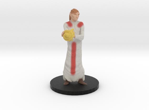 Cleric in Natural Full Color Sandstone