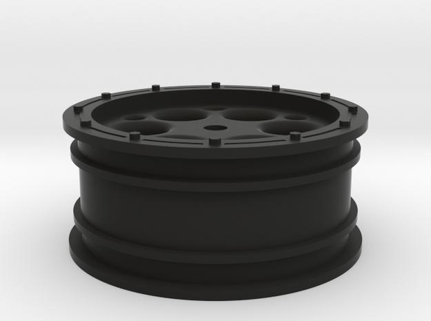 Slider 2.2 front wheel in Black Natural Versatile Plastic