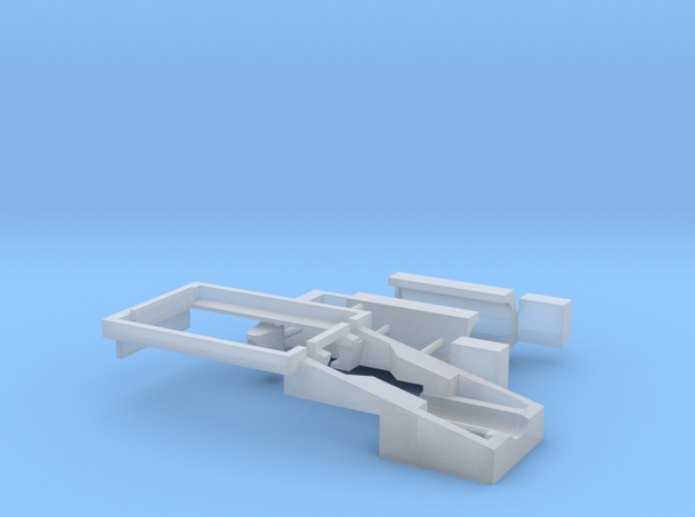 1:87 Liebherr R732 Chassis // Mikroengineering in Smooth Fine Detail Plastic