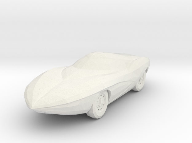 GRX 160 scale in White Natural Versatile Plastic