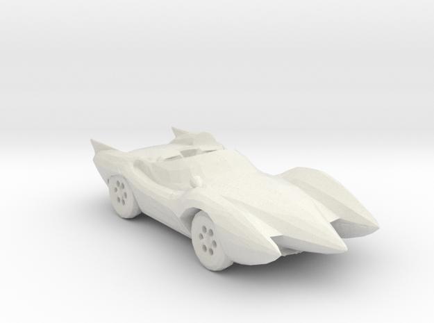 Mach 5 160 scale in White Natural Versatile Plastic