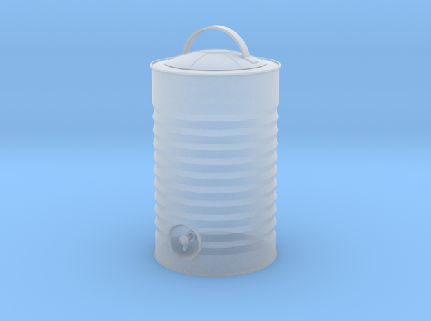 IGLOO water cooler - 1/18 scale in Smooth Fine Detail Plastic