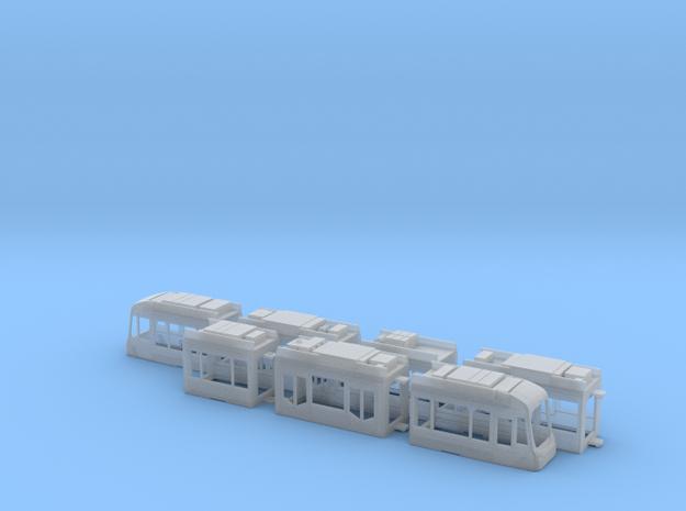 Rhein-Neckar-Variobahn RNV8ZR in Smooth Fine Detail Plastic: 1:120 - TT