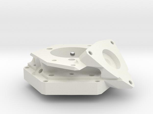1:1 Apollo RCS Injector Housing in White Natural Versatile Plastic