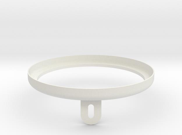 1:1 Apollo RCS Nozzle Attach Nut 01 in White Natural Versatile Plastic