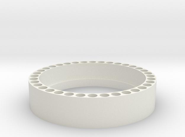 1:1 Apollo RCS Attach Ring in White Natural Versatile Plastic