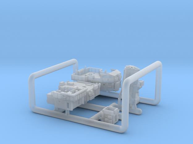 700_Liddesdale_Sprue_Deckhouses in Smoothest Fine Detail Plastic