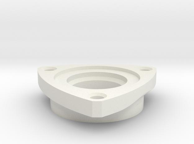 1:1 Apollo RCS Oxidizer Thermal Insulator in White Natural Versatile Plastic