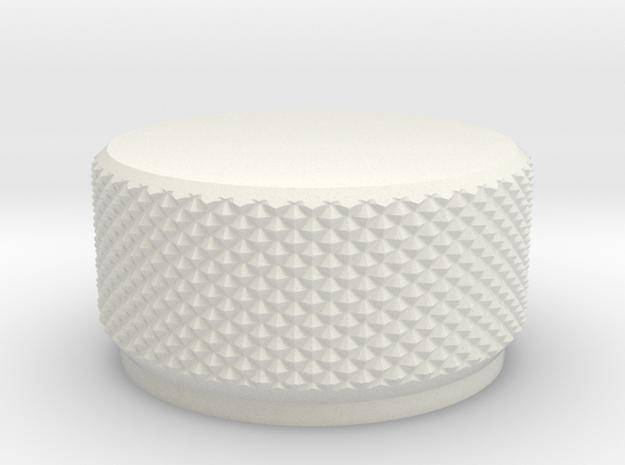 1:1 Apollo RCS Solenoid Cap in White Natural Versatile Plastic
